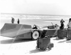 BLUEBIRD  1935 Daytona Beach (Side)
